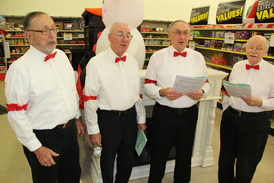 Coal Cracker Chorus, Quartet, Easy Listening, for Salvation Army, Lehighton (12-21-2012)