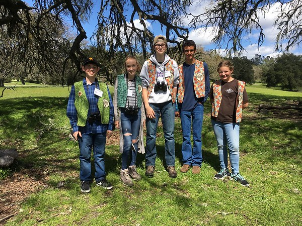 UC California Naturalist Class (Cuesta College/Instructor Michele Roest) LATO tour