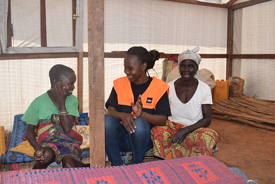 Emergency response to displaced people from Zaoro-sangou to Carnot