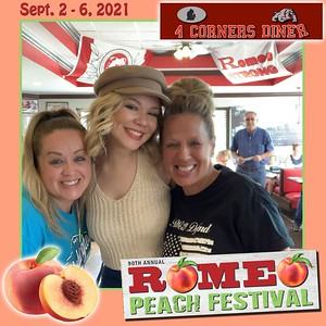 2021 Peach Fest - 4 Corners Diner