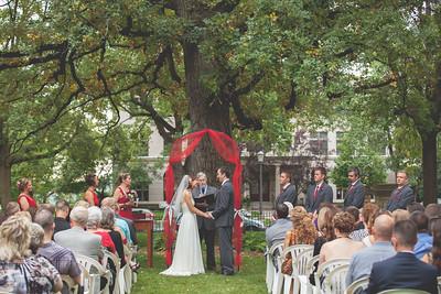 Missy + Chris' Wedding Ceremony