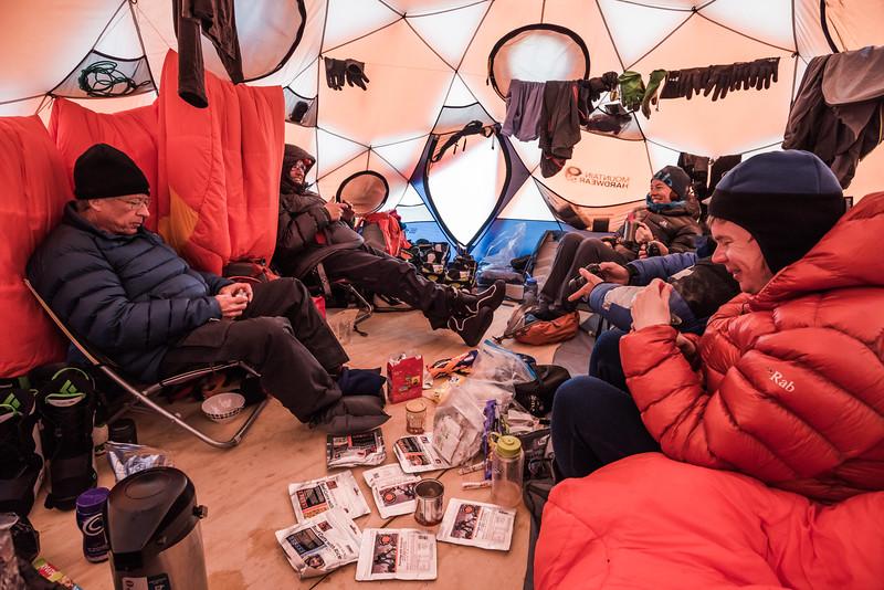Base Camp, Apusiaajik, East Greenland