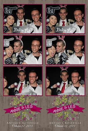 2013-10-12 Annie & Les'   Wedding