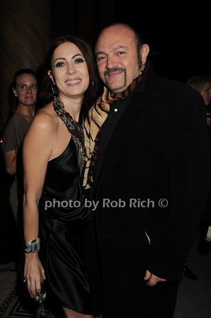 Catherine Malandrino, Bernard Aidan photo by Rob Rich © 2010 robwayne1@aol.com 516-676-3939