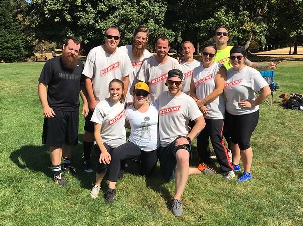 2018 Recesstime Portland Kickball