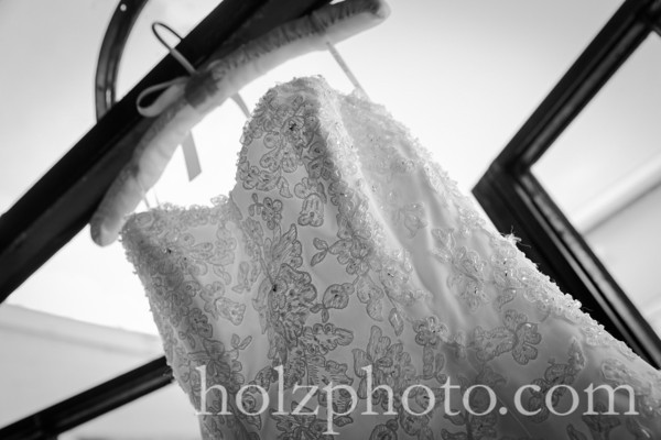 Julianne & Oliver B/W Wedding Photos