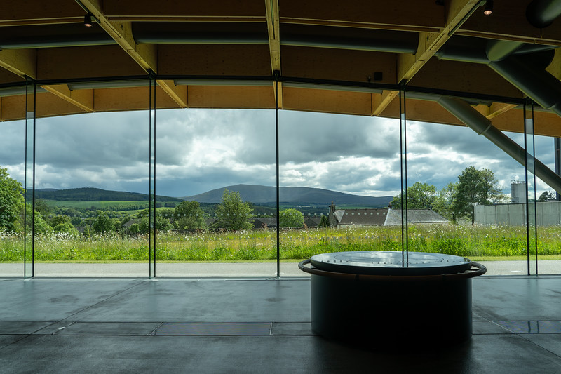 The Macallan Distillery view