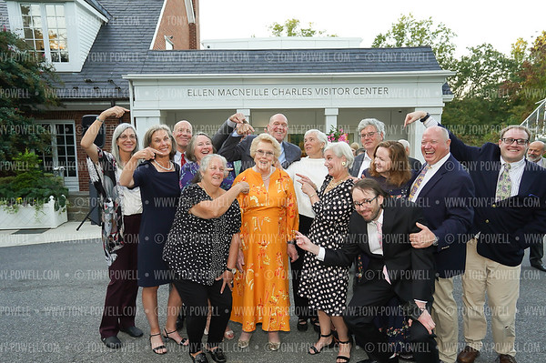 Ellen MacNeille Charles Visitor Center and  Dina Merrill Pavilion and Collections & Research Center Celebration