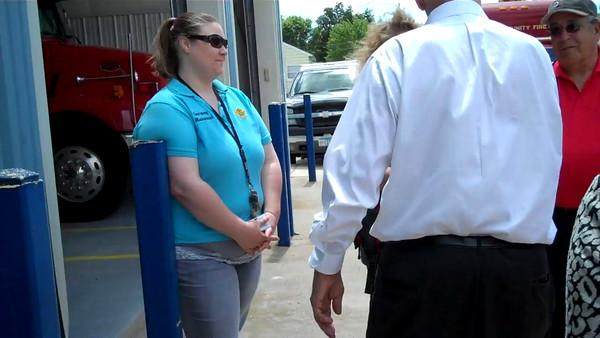 Governor Dayton visits Watkins