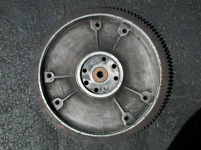05-09-04 Vintage Ford Flywheel