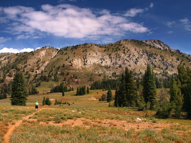 Cornucopia Peak Eagle Cap Wilderness Oregon