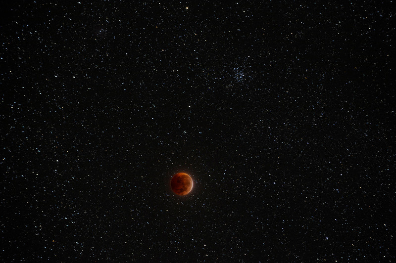 Solar System Winner - Malcolm Park - Lunar Eclipse and M35