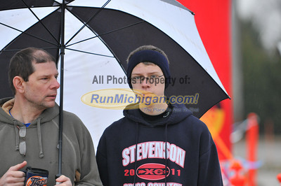 Pre-Race - 2012 Shelby Twp. Jingle Bell Run