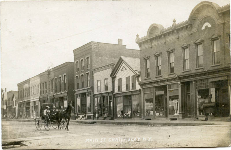 Main St. Chateaugay N.Y. 1901