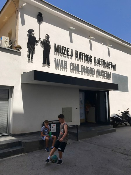 War Childhood Museum, Sarajevo