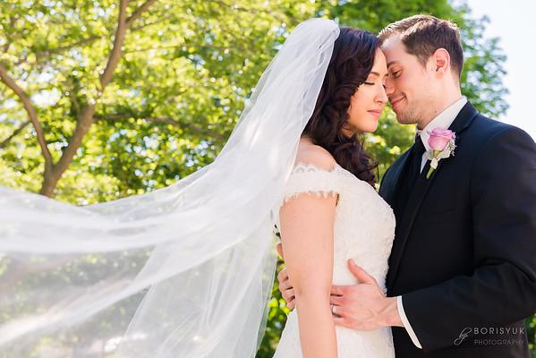 Doubletree Hilton North Shore Wedding: Melody & Max