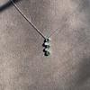 Tiffany & Co. Diamond and Tsavorite Bubble Pendant 7