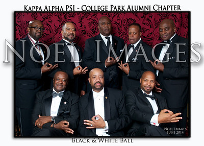 2014 Kappa Alpha Psi - College Park Alumni - Black & White Ball