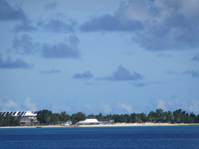 032_Funafuti Conservation Area. Our Hotel (left).JPG