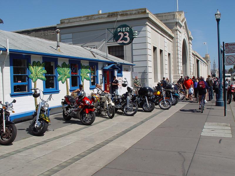 Mods vs Rockers III in 2006, Pier 23, San Fran