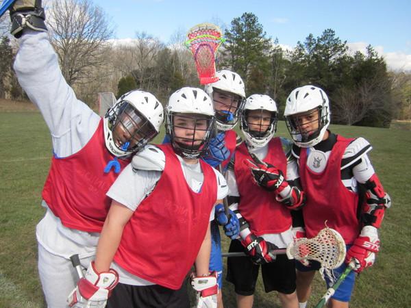 MS Lacrosse practice Mar 28