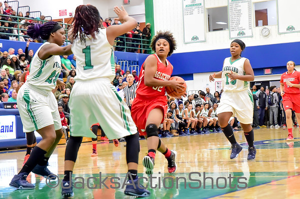 Girls - Eaglecrest at Overland - January  8th 2016