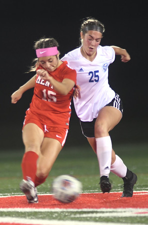Madion at Mentor girls soccer district semifinal October 21, 2019