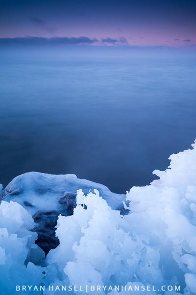 Shoreline Ice
