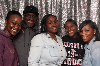 TAYLOR'S 13th BIRTHDAY 2-15-20