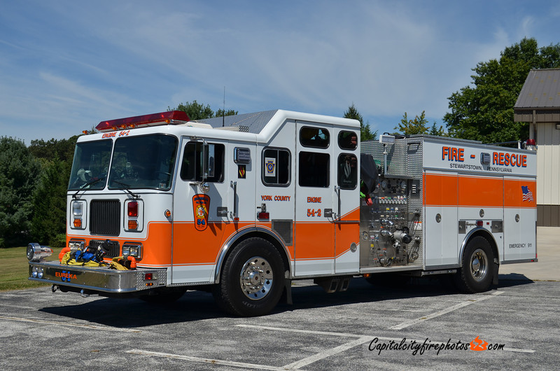 Stewartstown (Eureka Fire Co.) X-Engine 54-2: 1995 Seagrave 1750/1000 (sold to York Township, PA in 2020)