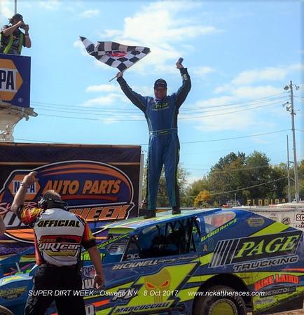 Oswego Speedway - SDW - Sportsman - 10/8/17 - Rick Young