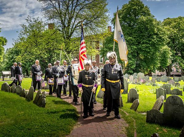 Prince Hall Freemasons Memorial Day Service
