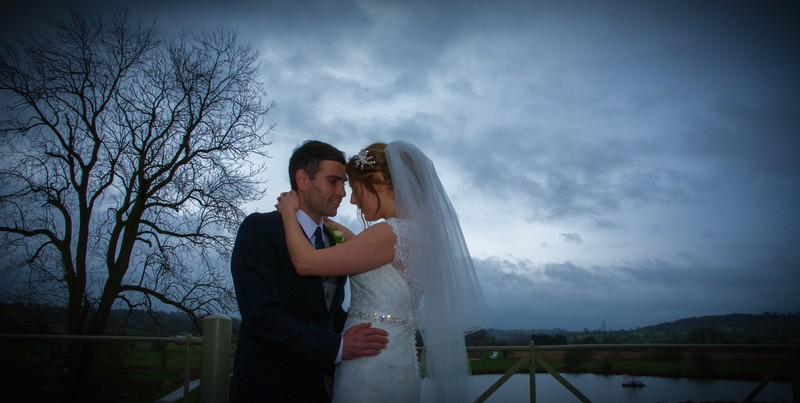 Jennie and Richard wedding in Staffordshire