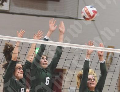 9/26/18 Ellsworth Volleyball (Mount Desert Island)