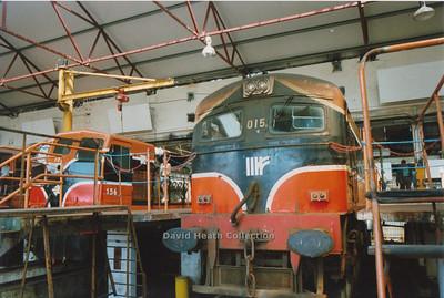 Inchicore Dublin Depot open day June 1996