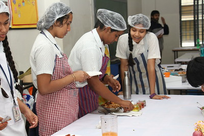 Happy Chef Cooking Competition - Grade IX