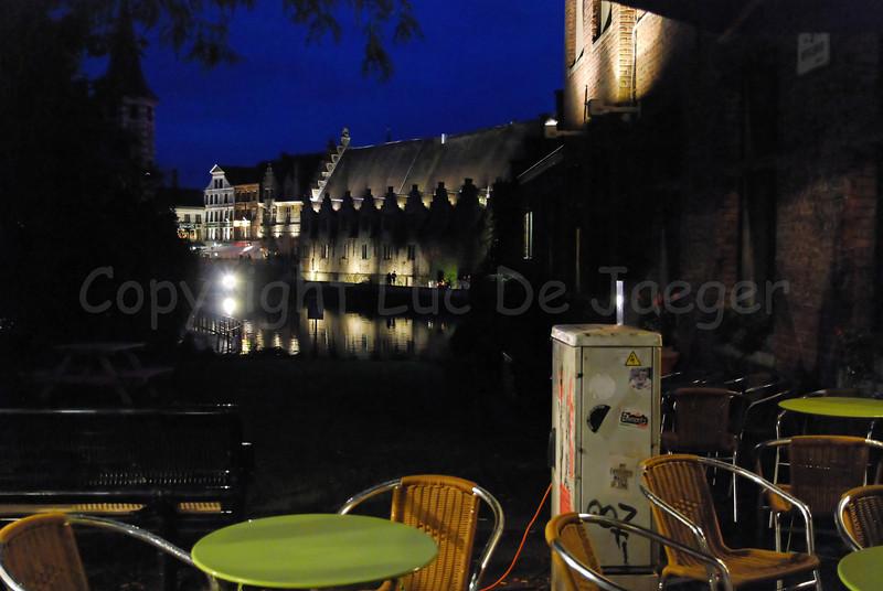 Photo captured from the Appelbrugparkje in Ghent (Gent), Belgium.