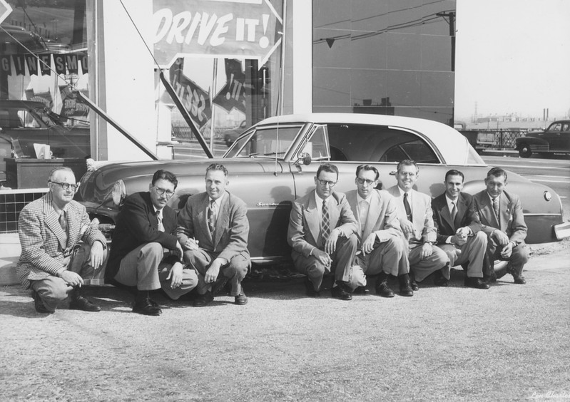 1950, Sales Staff