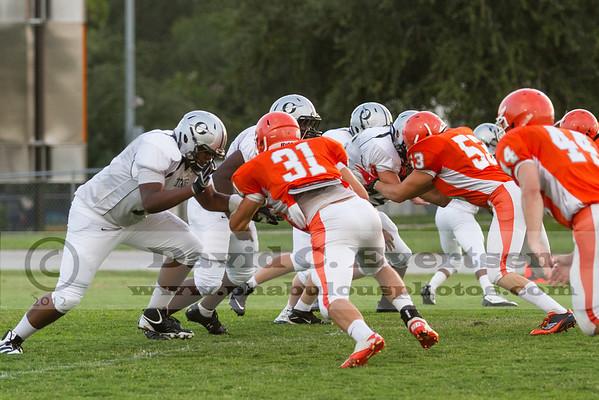 Boone Varsity Football #53 - 2012