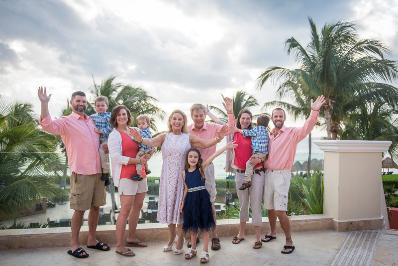 Michaela - Family - Ocean Coral Turquesa