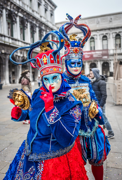 Costumes, Venice Carnival 2017