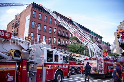 Manhattan 2nd Alarm Box: 0833 691 10th Ave. 12 Sept 20