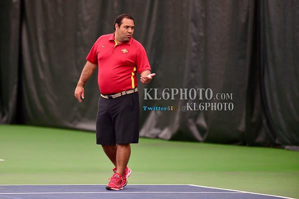 ISU Tennis vs Augustana (S.D.) 04/18/15