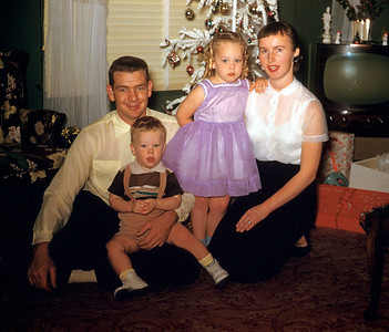 Old Family Pictures - 1956