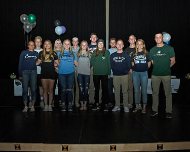 2018 Erie High School Athletic Signing Day Celebration
