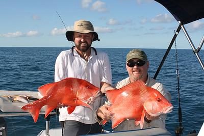 Fishing Stanage Bay 2009