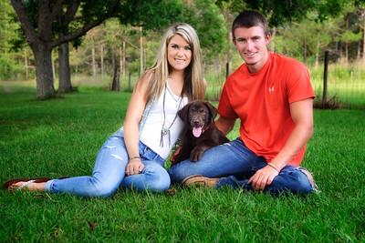 Kayla, Wyatt, Bear