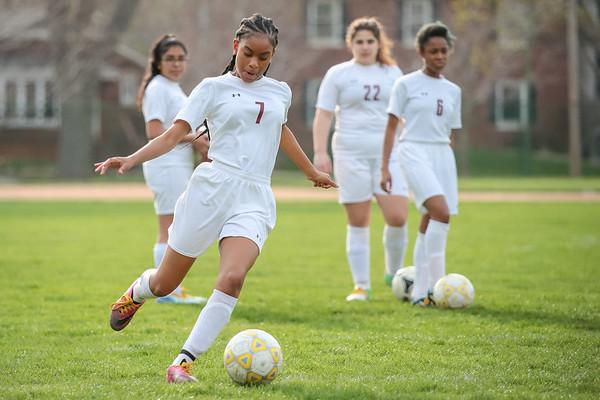 Varsity Girls Soccer vs. Lycée Français