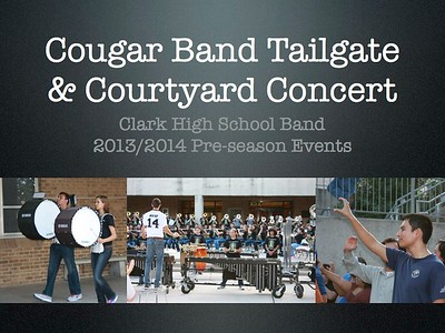 Tailgate & Courtyard Concert Pre-season 2013