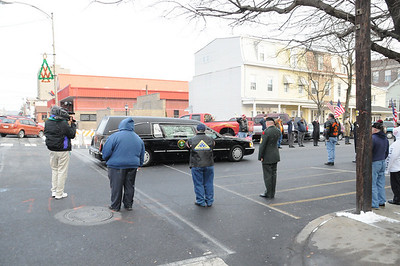 THE RETURN HOME FOR A FALLEN WORLD WAR ONE SOLDIER IN MAHANOY CITY 12-06-2010